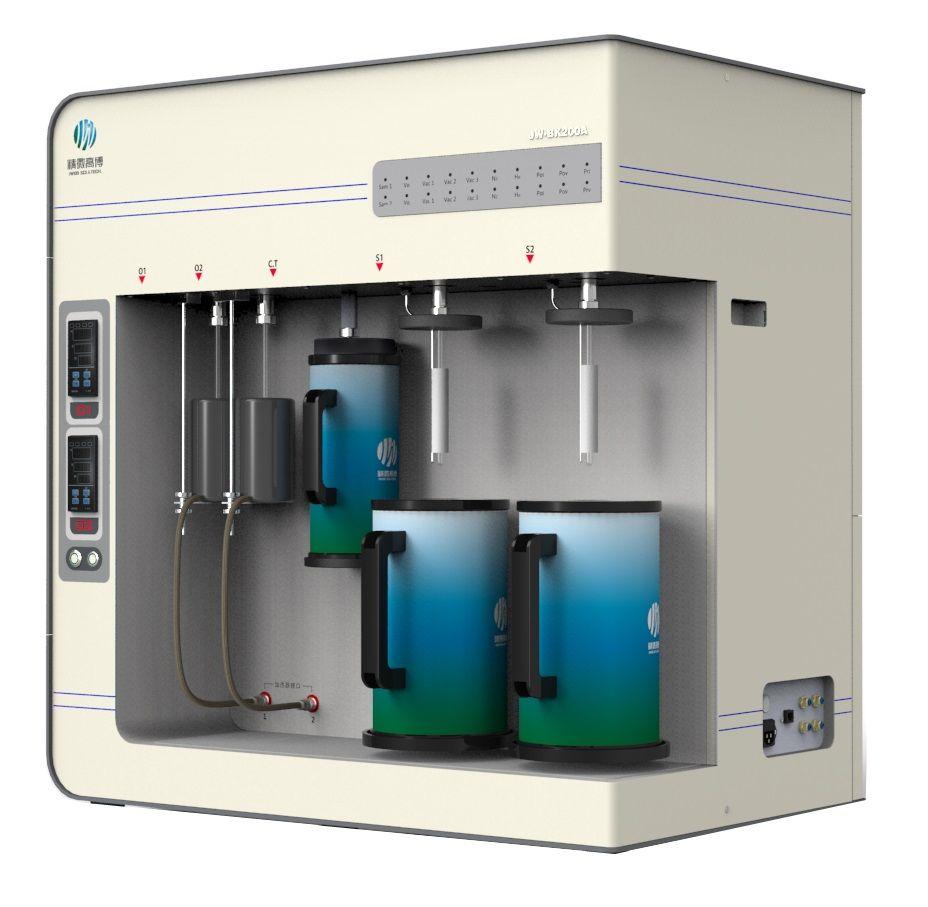 JW-BK200A多功能双站全自动比表面及孔径分析仪图片