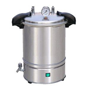 YXQ-SG46-280S电加热手提式灭菌器(移位式快开盖型)图片