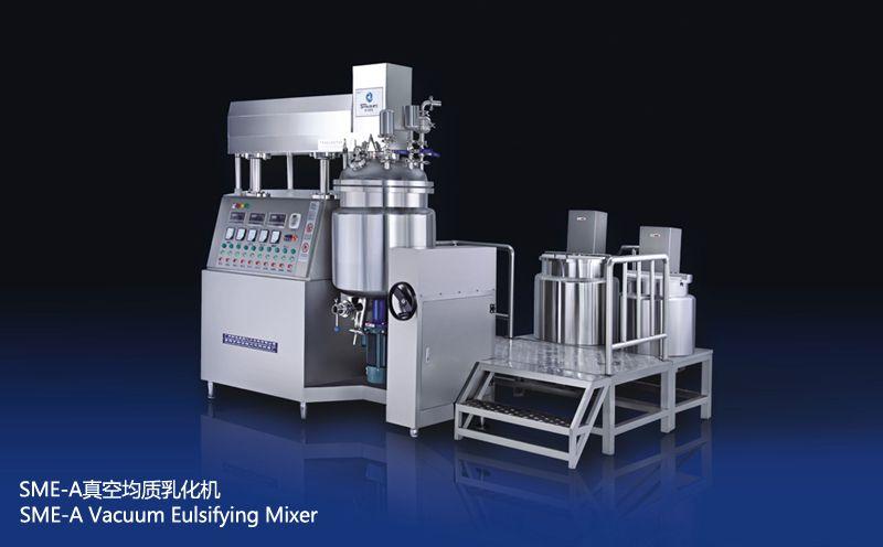 SME-A 100L下均质真空均质乳化机图片