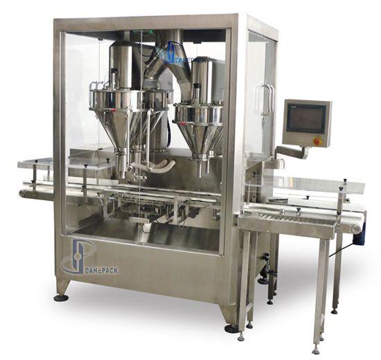 DH-Q3-S型高速自动罐装机(双排四充填)图片
