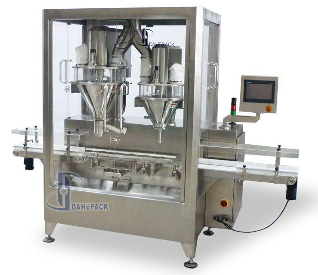 DH-Q3-D型自动罐装机(单排双充填)图片