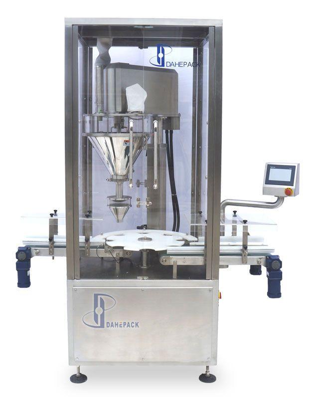 DH-Q2型自动罐装机(单头回转式)图片