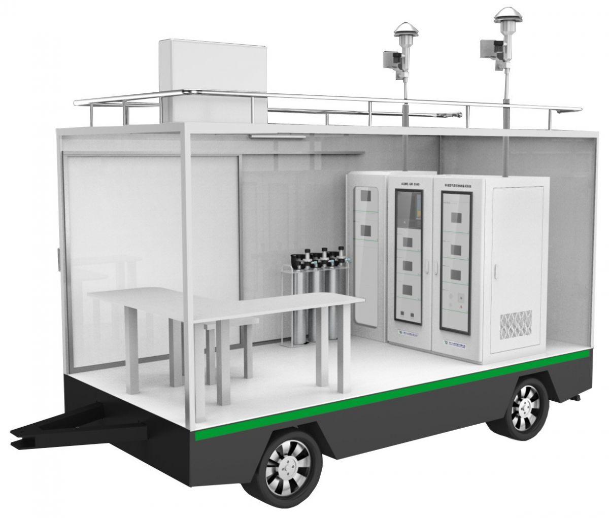 移动式环境空气质量连续自动监测系统图片