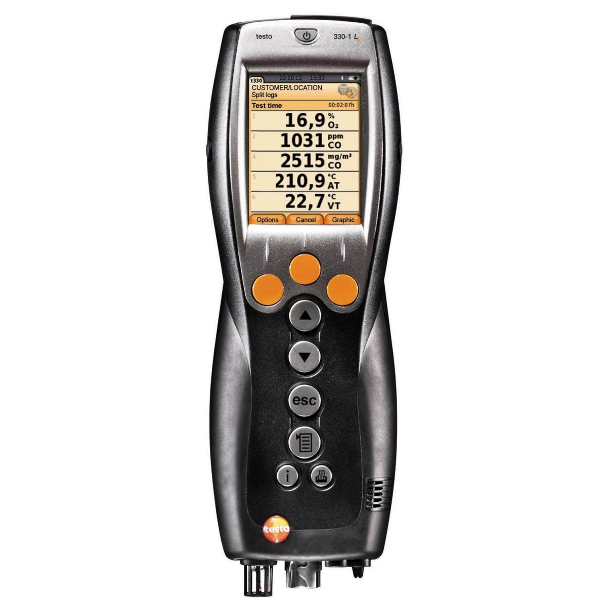testo 330-1 LL专业型烟气分析仪图片