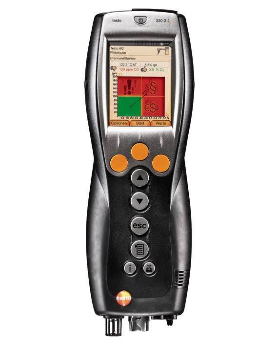 烟气分析仪套装testo 330-2 LL图片