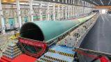 恒神碳纤维拉挤板在电气风电百米级大叶片上成功应用